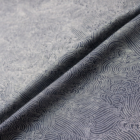 Japanese Indigo Print Cotton - Sea