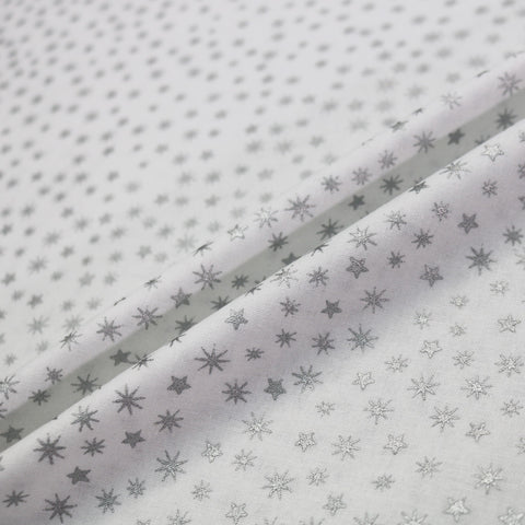Festive Stars - Silver and White