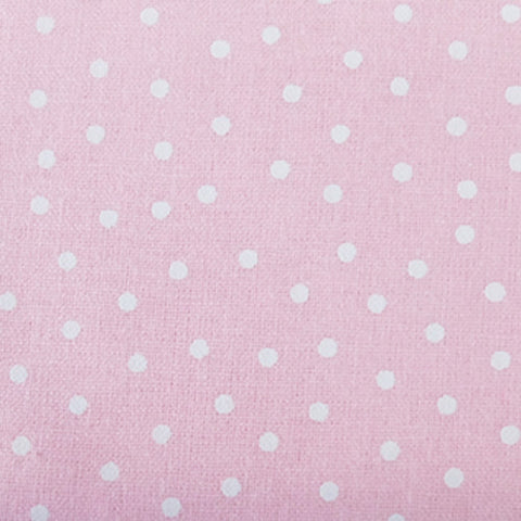 Polka Dot Cotton- Pink