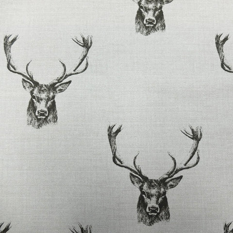 Stag Head Home Furnishing Fabric