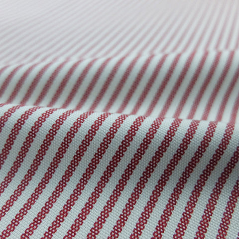 Mini Stripe Home Furnishing Fabric - Red
