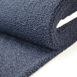 Teddy Coating Fabric - Navy