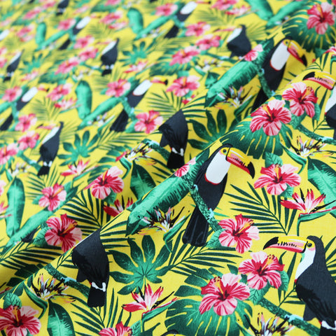 Jungle Toucan Cotton