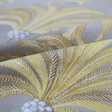 La Palmeraie Home Furnishing Fabric by Maison THEVENON Paris- Mustard