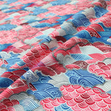 Oriental Waves Cotton