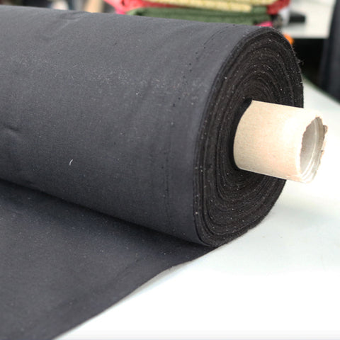 Lightweight Cotton Interfacing - Black