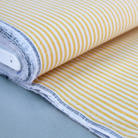 Chambray - Yellow - Stripe