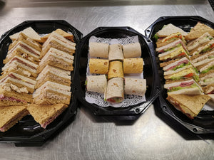 6 - Regular, classic sandwiches, wraps, savouries and cake