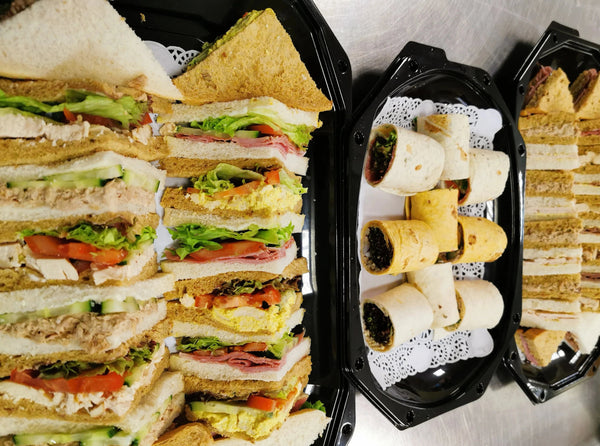 1 - Regular, classic sandwiches and wraps