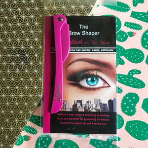 The Brow Shaper by Lilibeth of New York, but who said we had to stop at brows?