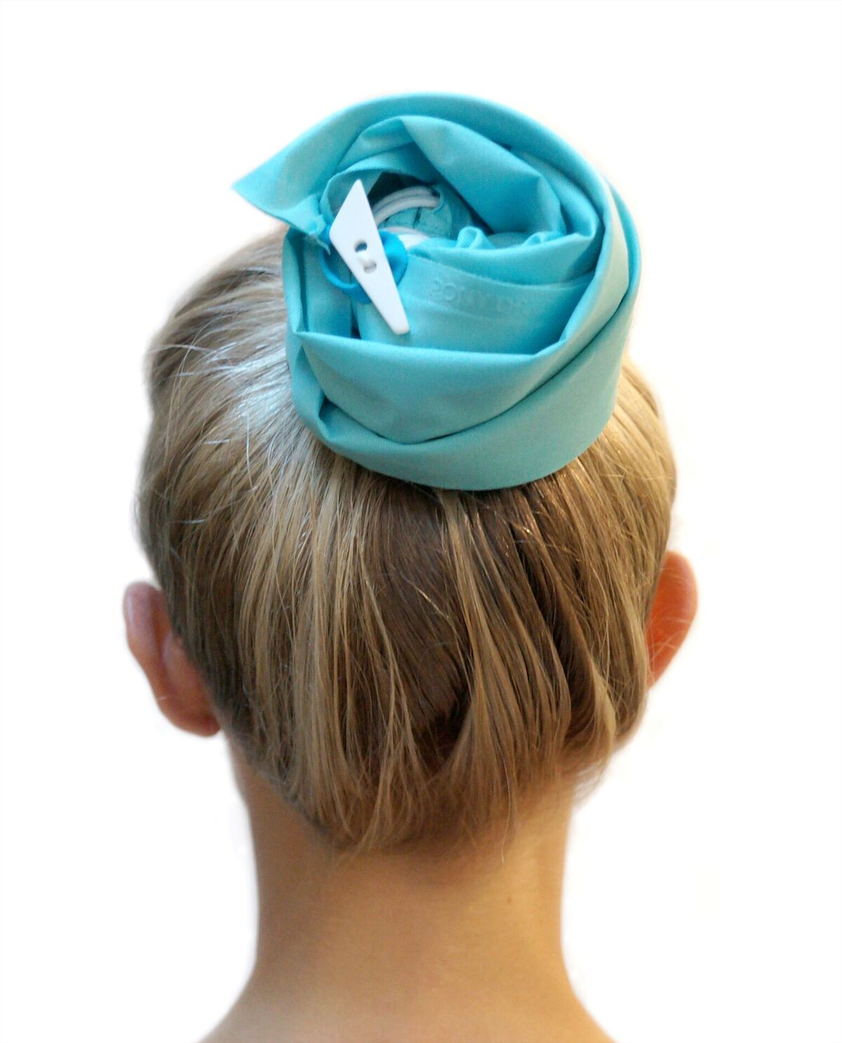 PonyDry Waterproof Hair Sleeve in Turquoise