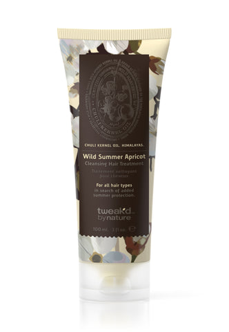 Tweak'd by Nature Rare Treasures Wild Summer Apricot Cleansing Hair Treatment