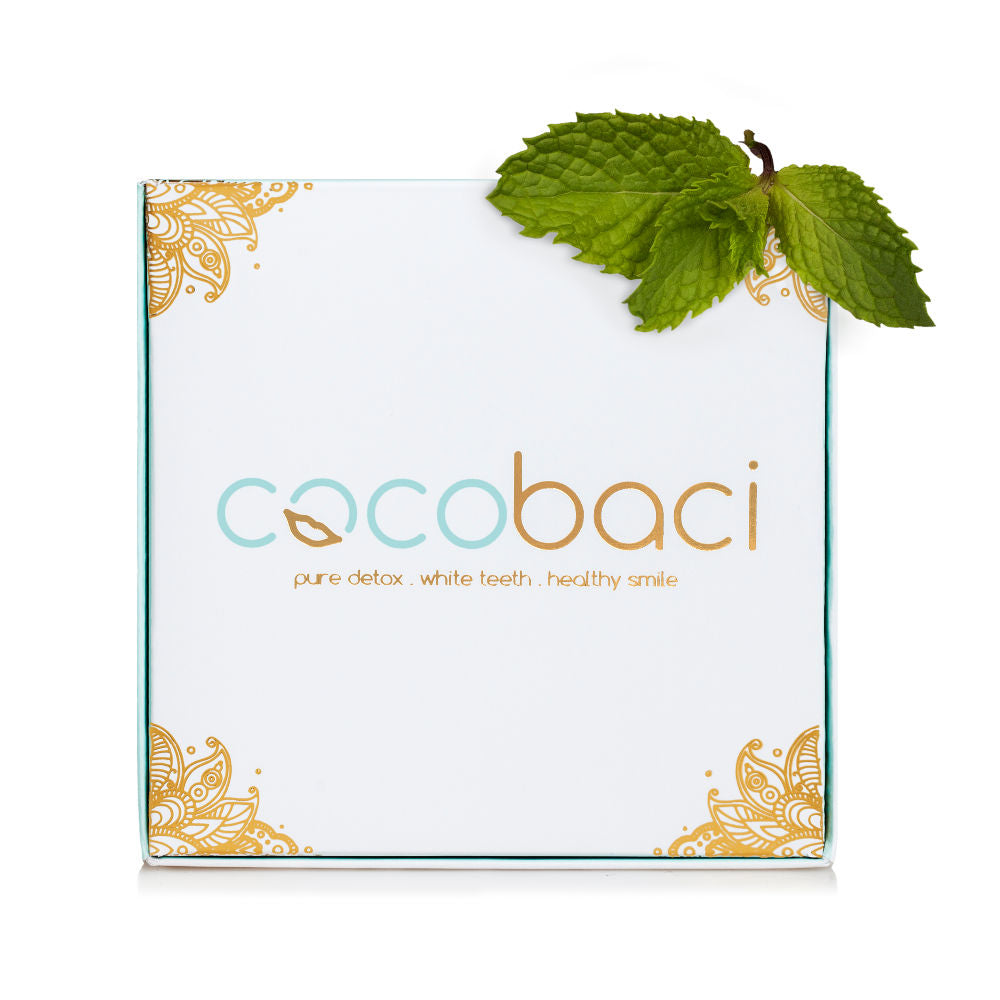 Cocobaci Teeth Whitening Oil Pulling Program Cool Mint