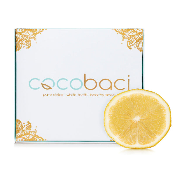 Cocobaci Teeth Whitening Oil Pulling Program Lemon & Fennel