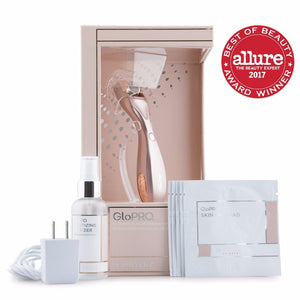 BeautyBio GloPRO MicroStimulation Facial Tool in RoseGold
