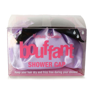 Morning Glamour Bouffant Waterproof Lilac Shower Cap