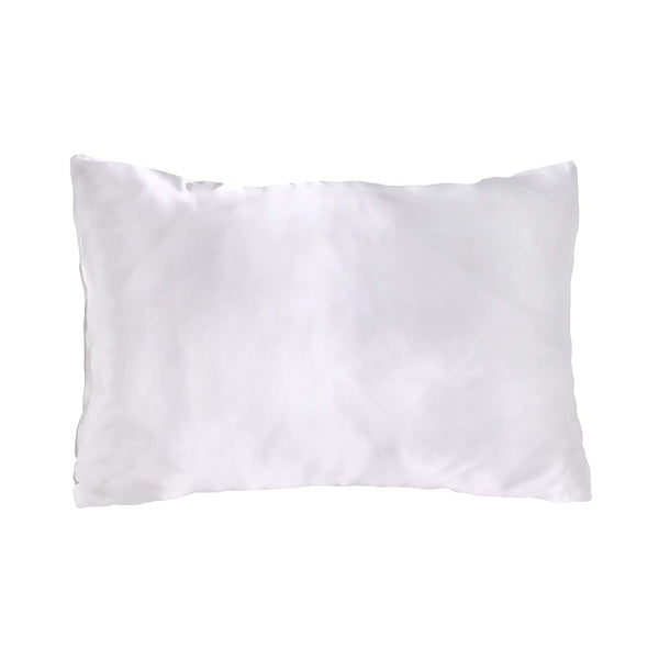 Morning Glamour - Ivory Satin Pillow Case Set of 2