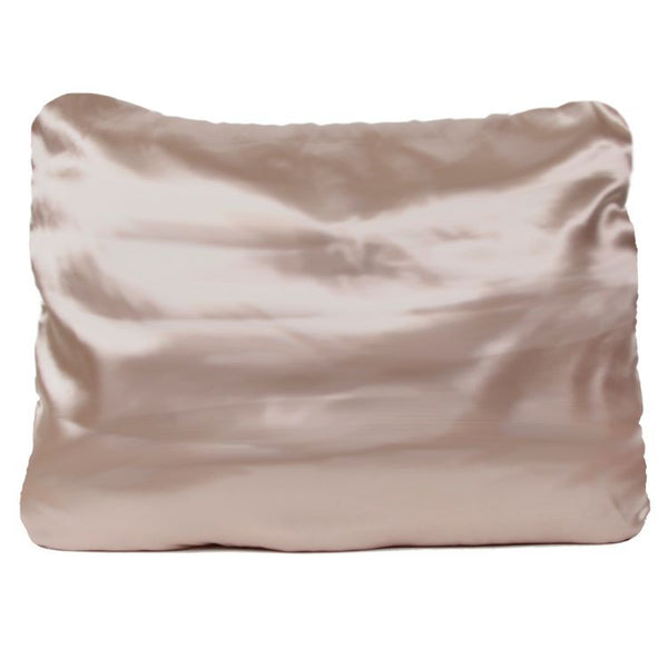 Morning Glamour - Gold Satin Pillowcase Single