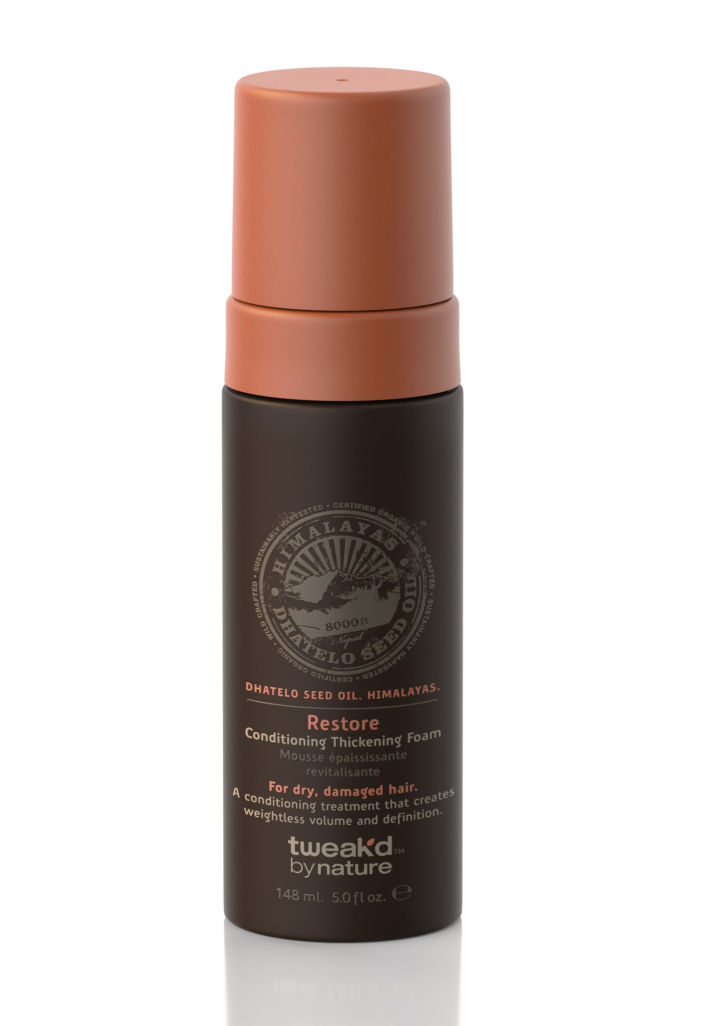 Tweak'd by Nature Restore Conditioning Thickening Foam