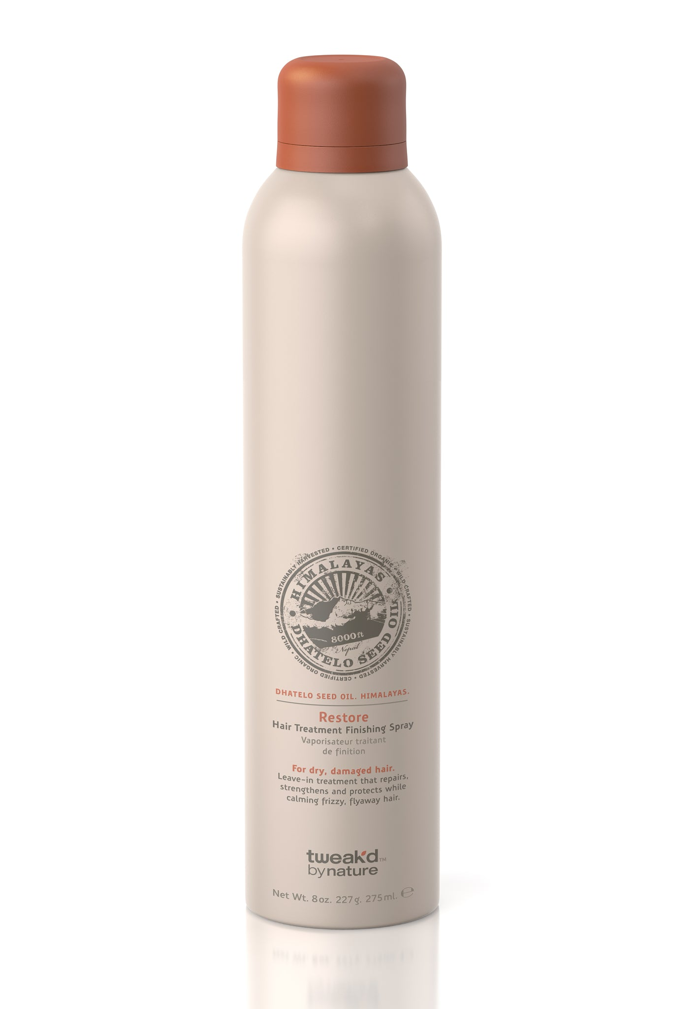 Tweak'd by Nature Restore Hair Treatment Finishing Spray