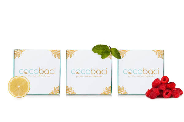 Cocobaci Teeth Whitening Oil Pulling Program Mixed Flavours