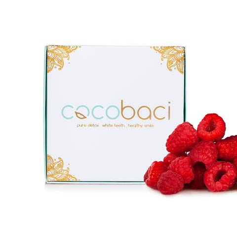 Cocobaci Teeth Whitening Oil Pulling Program Raspberry Kisses