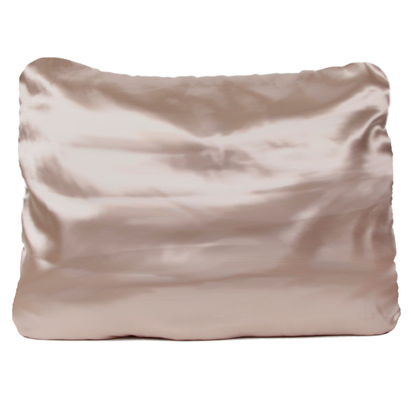 Morning Glamour Gold Satin Pillowcase Set of 2