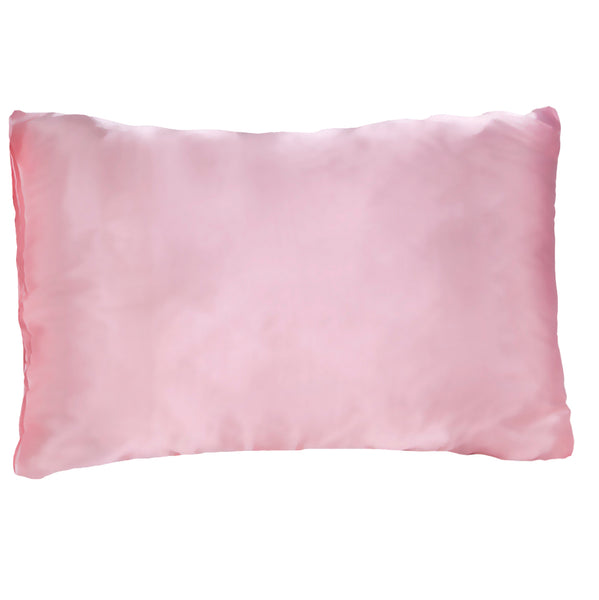 Morning Glamour Pink Satin Pillowcase Single