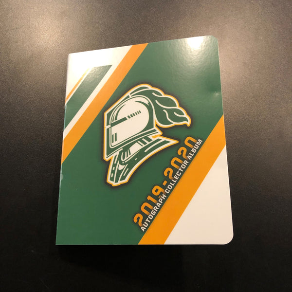 2019-2020 London Knights Autograph Binders
