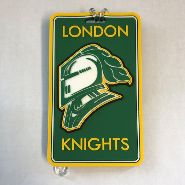 London Knights Luggage Tag