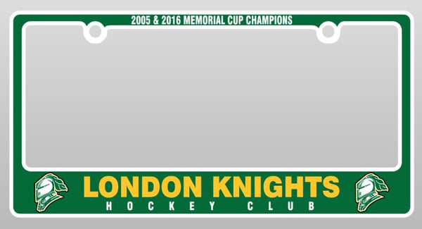 London Knights License Plate Frame