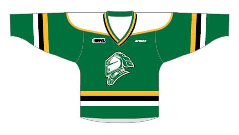 London Knights Sublimated Toddler Jersey
