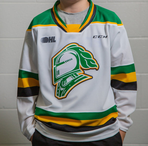 Youth London Knights Jersey - White