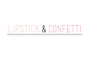 Lipstick and Confetti Logo
