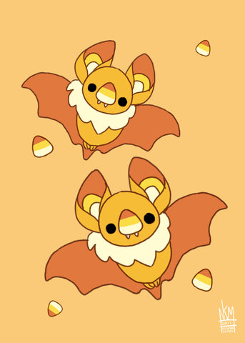 Candy Corn Bat