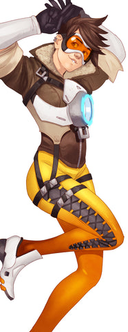 Tracer Body Pillow Case