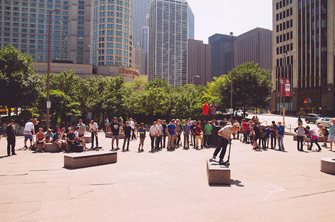 Tiltlife chicago street jam 2013