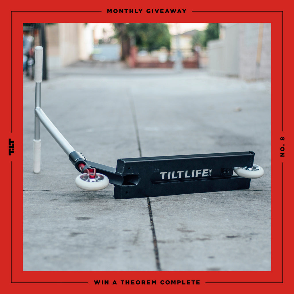 TILT Scooters - Giveaway : Theorem Complete with The Vault Giveaway
