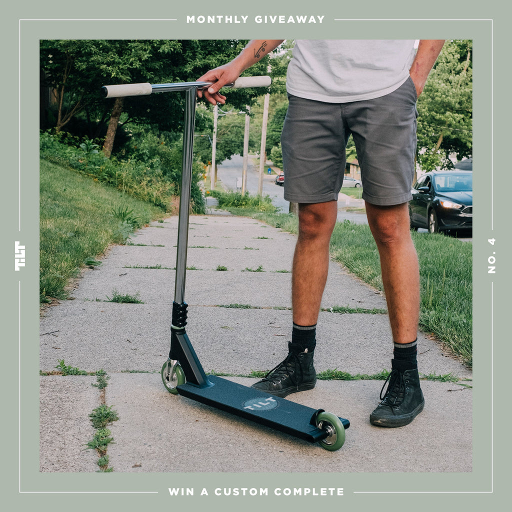 TILT Scooters - Giveaway : Custom Complete Giveaway