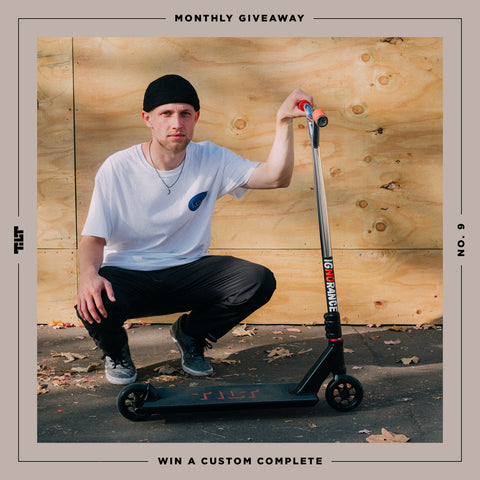 Giveaway : CUSTOM COMPLETE with Joe Vos - TILT Scooters