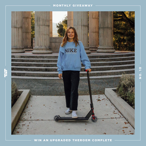 TILT Scooters - Giveaway : UPGRADED THEOREM COMPLETE Giveaway
