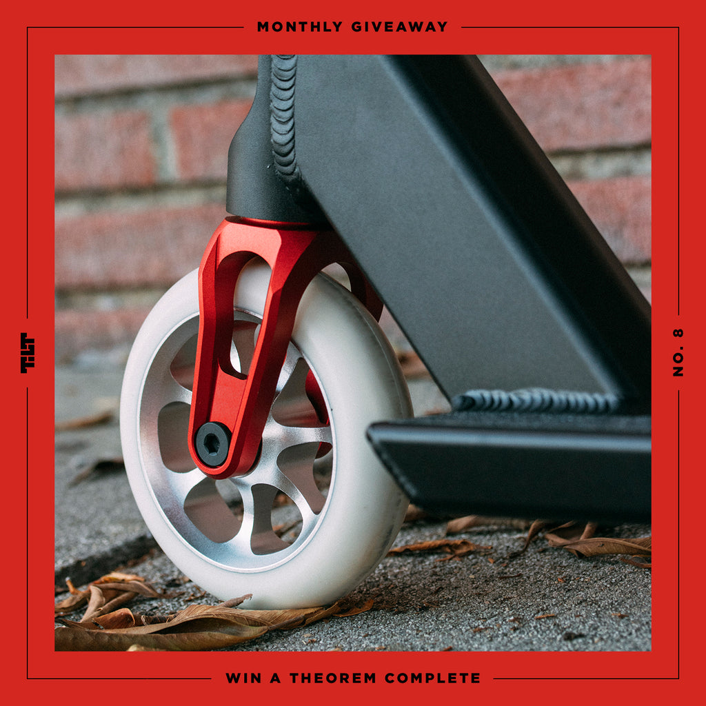 Giveaway : Theorem Complete with The Vault - TILT Scooters