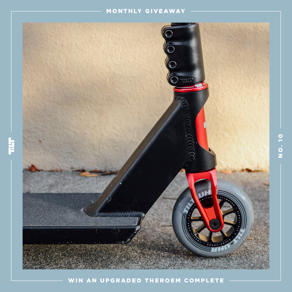 Giveaway : UPGRADED THEOREM COMPLETE - TILT Scooters