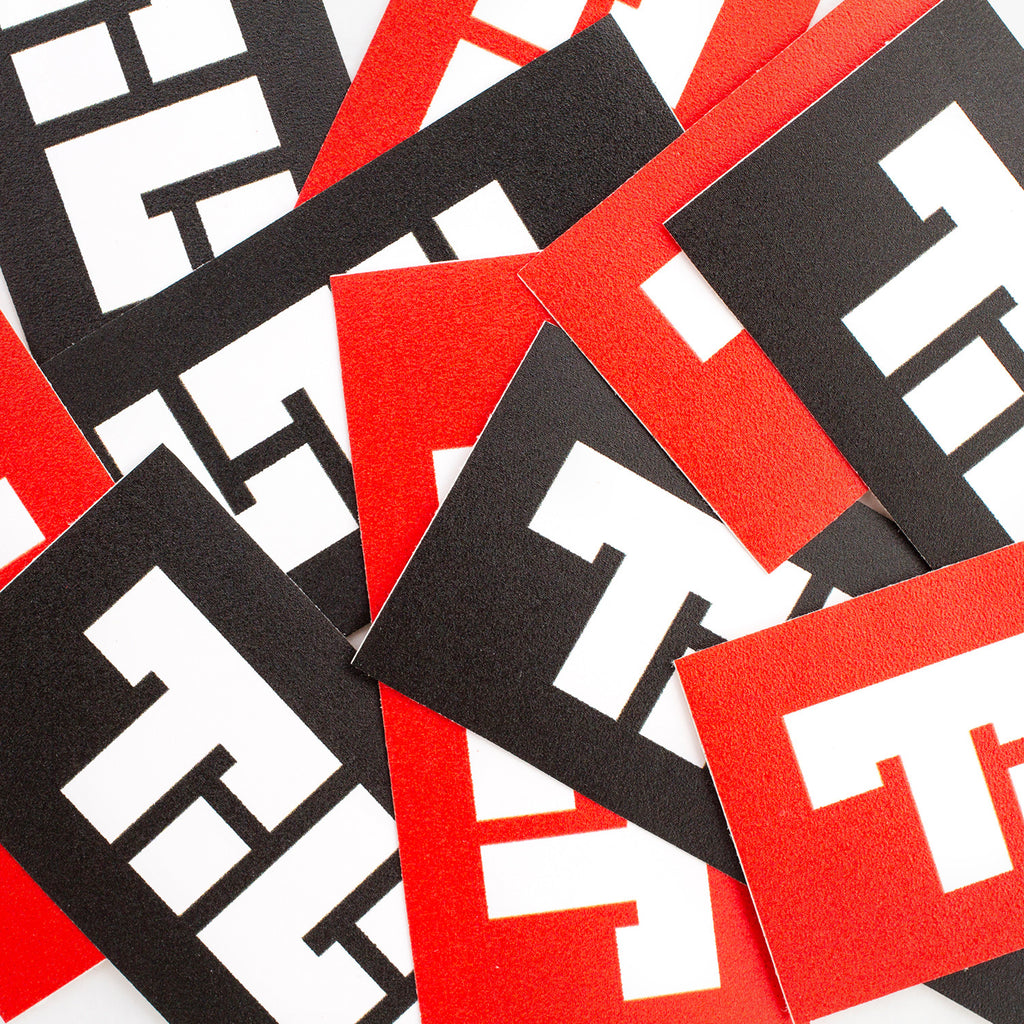 TILT Scooters - Block Logo Shop Sticker Essentials