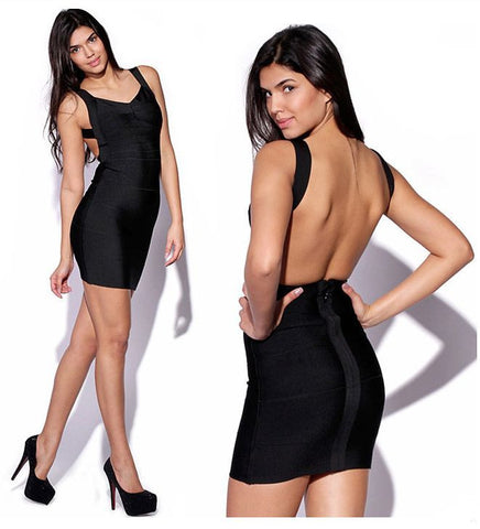 Evening Backless Dress