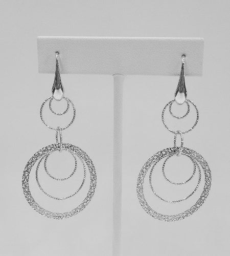 Italian Sterling Silver Earrings
