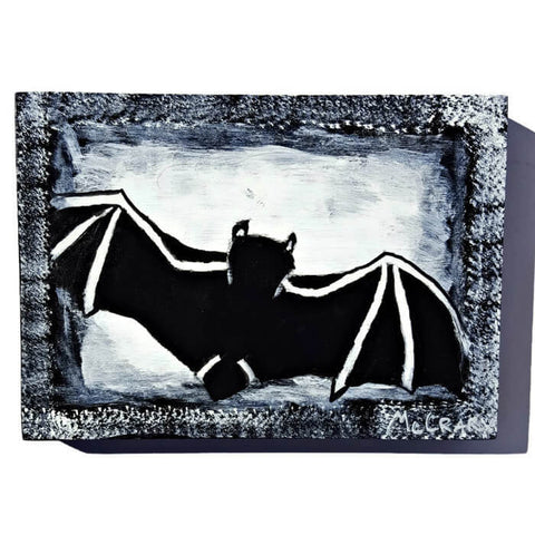 flying bat painting