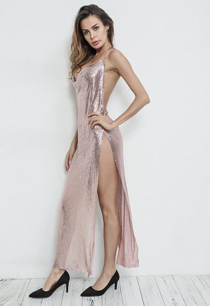 Kendall Metal Maxi dress