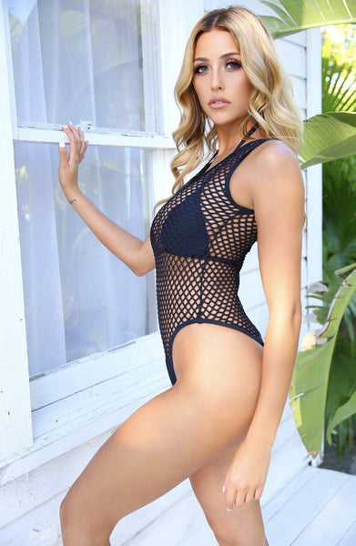 The Netted Gooddes Monokini