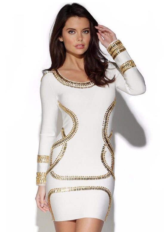 KAYDENCE CRYSTAL Embellished Dress in 2 Colors